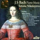 タチアナ・ニコラーエワ/J.S.Bach: Piano Music [ALC1205]