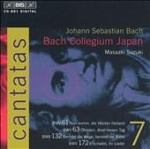 Bach: Cantatas Vol 7 / Suzuki, Schmithuesen, Mera, et al