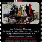 ヘルマン・シェルヘン/Liszt: Les Preludes, Mazeppa, Battle of the Huns, etc [WS121220]