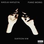 キム・スクヨン/N.Kapustin: Piano Works [PCL0082]