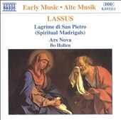 Ars Nova Vocal Ensemble/Lassus: Lagrime di San Pietro / Bo Holten, Ars Nova[8553311]