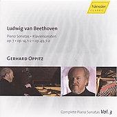 BEETHOVEN:COMPLETE PIANO SONATAS VOL.3:NO.4/9/10/19/20:GERHARD OPPITZ(p)[98203]