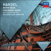 ジョン・エリオット・ガーディナー/Handel: Water Music Suites No.1-No.3, Fireworks Music[4783357]