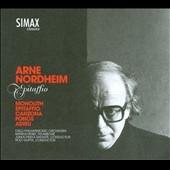 ロルフ・グプタ/A.Nordhiem: Epitaffio - Orchestra Works [PSC1318]