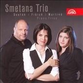 スメタナ三重奏団/Dvorak :Piano Trio Op.21 B.51/Fibich :Piano Trio/Martinu :Piano Trio No.2 H.327 (4/2007):Smetana Trio[SU3927]