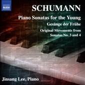 イ・ジンサン/Schumann: Piano Sonatas for the Young, Gesange der Fruhe, etc[8573436]