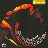 デニス・マツーエフ/Rachmaninov: Piano Concerto No.3 Op.30, Rhapsody on a Theme by Paganini Op.43 / Denis Matsuev, Valery Gergiev, Mariinsky Theater Orchestra[MAR0505]