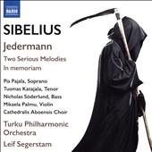 レイフ・セーゲルスタム/Sibelius: Jedermann, Two Serious Melodies, In Memorium[8573340]