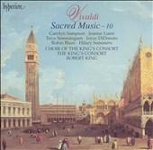 Vivaldi: Sacred Music Vol 10 / King, King's Consort