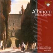 シュテファン・シュリ/Albinoni: Oboe Concertos [BRL93235]