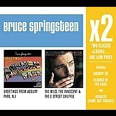 Bruce Springsteen/X2 : Greetings From Asbury Park/The Wild,The Innocent &The E Street Shuffle [88697251252]