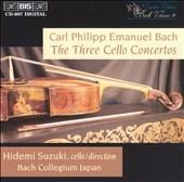 C.P.E. Bach: Cello Concertos / Suzuki, Bach Collegium Japan