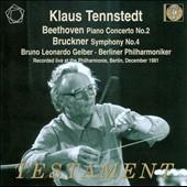 クラウス・テンシュテット/ベートーヴェン: ピアノ協奏曲第2番、ブルックナー: 交響曲第4番「ロマンティック」[ハース版][SBT21448]