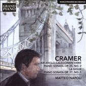 マッテオ・ナポリ/J.B.Cramer: Air Anglo-Caledonien Varie, Piano Soantas Op.25-2, Op.39-3, Op.27-1[GP656]