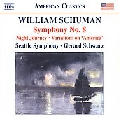 ジェラード・シュワルツ/W. シューマン:交響曲 第8番 他[8559651]
