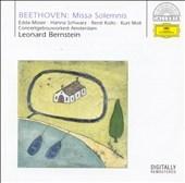 レナード・バーンスタイン/Beethoven: Missa Solemnis Op.123 / Leonard Bernstein(cond), ACO, Edda Moser(S), etc[4695462]