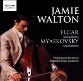 ジェイミー・ウォルトン/Elgar: Cello Concerto Op.85; N.Myaskovsky: Cello Concerto Op.66 (9/13-14/2006) / Jamie Walton(vc), Alexander Briger(cond), Philharmonia Orchestra[SIGCD116]