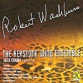 キーストン・ウインド・アンサンブル/R.Washburn: Partita, Quintet for Brass, Symphony for Band, etc [K11177]