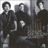 Signum Saxophone Quartet - Debut
