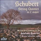 エオリアン弦楽四重奏団/Schubert: String Quintet Op.163; Mozart: Divertimento K.136[ALC1278]