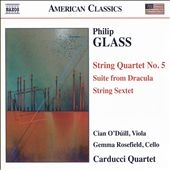チャン・オドゥイル/Philip Glass: String Quartet No.5, Suite from Dracula, String Sextet[8559766]