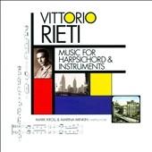 マーク・クロール/Vittorio Rieti: Music for Harpsichord & Instruments