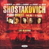 ジャニーヌ・ヤンセン/Shostakovich: Piano Quintet Op.57, Piano Trio No.1 Op.8, 5 Pieces (12/11/2006) / Julian Rachlin(vn), Janine Jansen(vn), Itamar Golan(p), etc[ONYX4026]