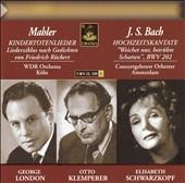 オットー・クレンペラー/Mahler:Kindertotenlieder(1955)/J.S.Bach:Cantata No.202