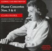クララ・ハスキル/Beethoven:Piano Concertos No.3(11/1956)/No.4(12/8/1955):Clara Haskil(p)/Charles Munch(cond)/BSO/etc[ARPCD0197]