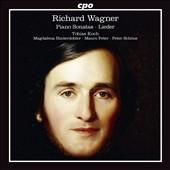 トビアス・コッホ/Wagner: Piano Sonatas & Lieder [777800]