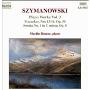 マーティン・ロスコー/Szymanowski: Piano Works Vol 3 / Martin Roscoe [8553867]