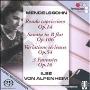 Mendelssohn: Rondo Capriccioso Op.14, Piano Sonata No.3 Op.106, Variations Serieuses Op.54, etc (11/1975)  / Ilse von Alpenheim(p)