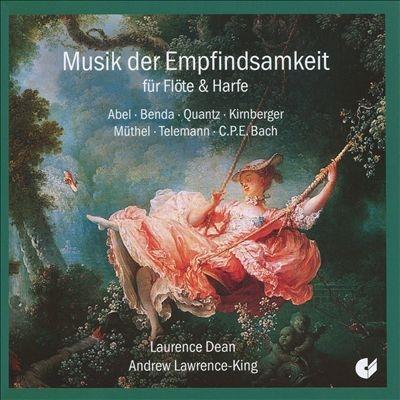 ローレンス・ディーン/Musik der Empfindsamkeit fur Flote &Harfe[CHE02142]