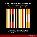 ペンデレツキ: 弦楽四重奏曲第1-3番、他