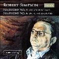 ロバート・シンプソン: 交響曲第5番(1972)、交響曲第6番(1977)