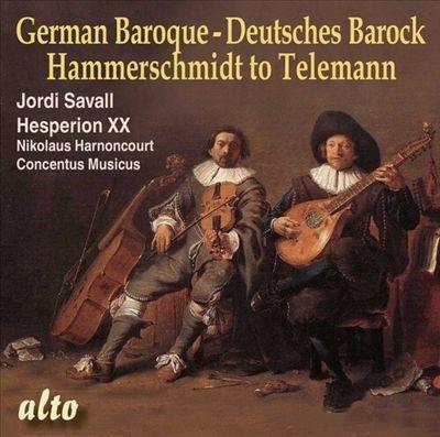 ジョルディ・サヴァール/ドイツ・バロック - ハンマーシュミットからテレマンへ[ALC1420]