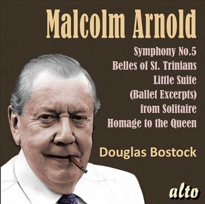 ダグラス・ボストック/マルコム・アーノルド: 交響曲 第5番、他[ALC1424]