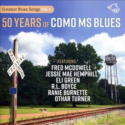 50 Years Of Como Ms Blues CD