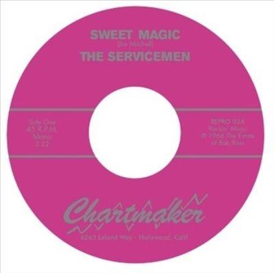 Sweet Magic/Connie 7inch Single