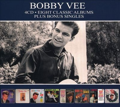 TOWER RECORDS ONLINEで買える「Bobby Vee/Eight Classic Albums Plus Singles[RTRCD153]」の画像です。価格は1,178円になります。