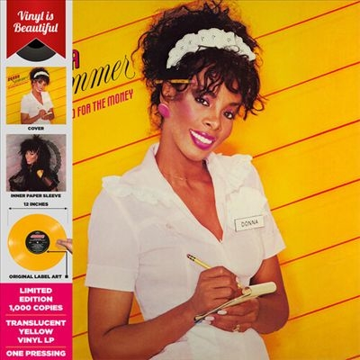 She Works Hard for the Money<Yellow Vinyl> LP