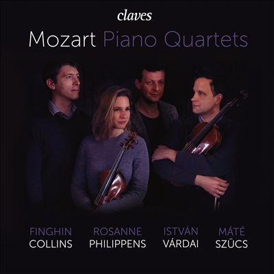 モーツァルト: ピアノ四重奏曲第1番&第2番