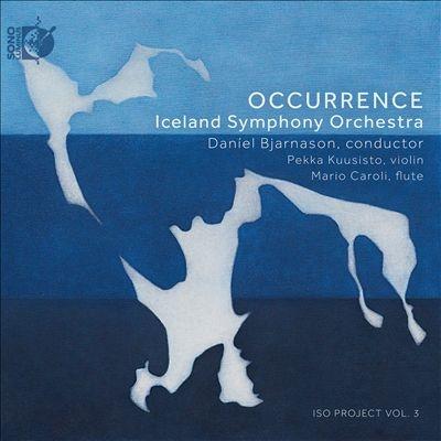 OCCURRENCE - 今起きていること - アイスランドの近代音楽集 [CD+Blu-ray Audio]