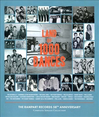 Land of 1000 Dances: The Complete Rampart Recordings [4CD+BOOK] CD