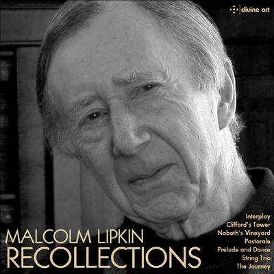 ジョン・ターナー (Recorder)/「リコレクションズ」 マルコム・リプキンの音楽[DDA25202]