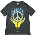 121 Hi-STANDARD、ULTRA BRAiN、難波章浩 NO MUSIC, NO LIFE. T-shirt Eco-Black/Lサイズ