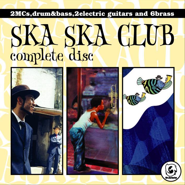 SKA SKA CLUB/complete disc[KNCA-11002]