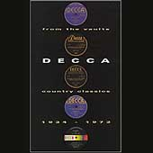 From The Vaults: Decca Country...[Box]
