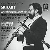 Mozart: Clarinet Concerto, etc / Shifrin, Schwarz