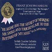 Haydn: Symphonies nos 22 & 104, etc / Schwarz, Rosenberger